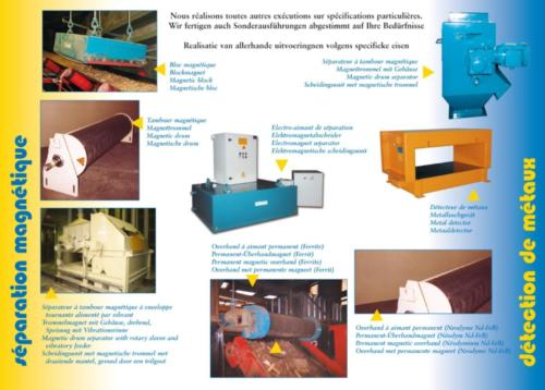 Séparateurs magnétiques et électromagnétiques Lux Magnet